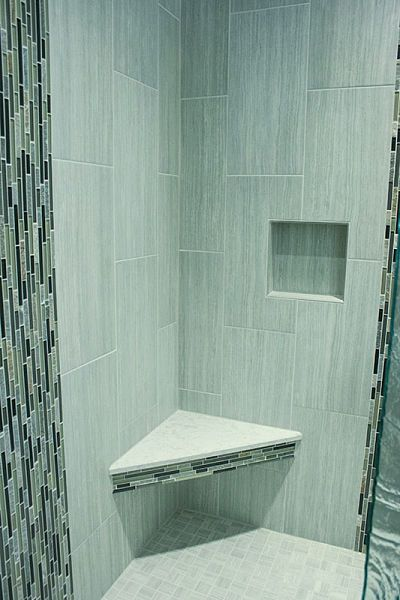 Best 25+ Vertical Shower Tile Ideas On Pinterest | Bathroom Tile Designs,  Tile Shower Shelf And Master Shower