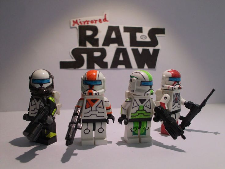 Lego Star Wars minifigures - Clone Custom Troopers -Commando Delta Squad SPECIAL