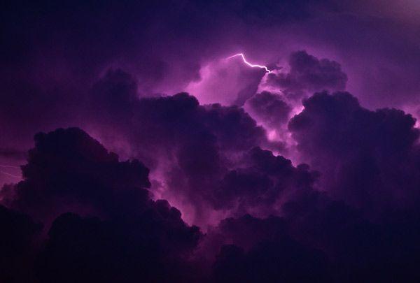 purple lightning amazing lightning photo thunderstorm