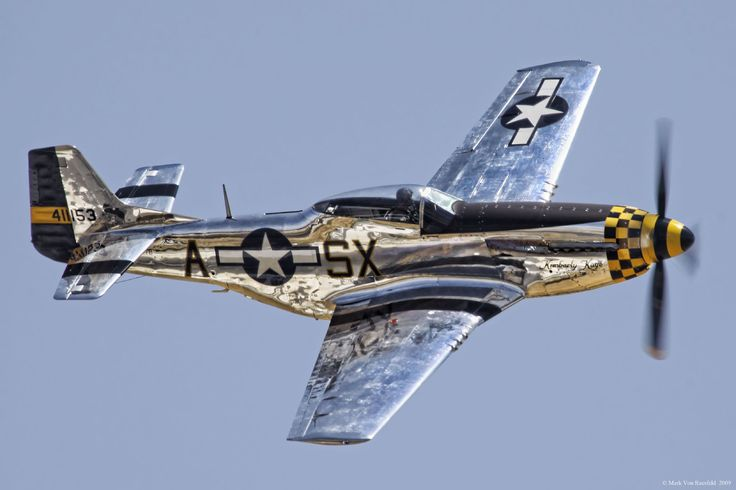 P-51 Mustang. The apogee of the propellor-driven fighter of WW2.