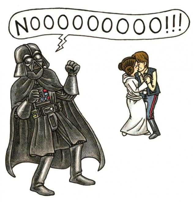 Princess Leia's childhood if Darth Vader had been a normal dad [11 pics] - 22 Words