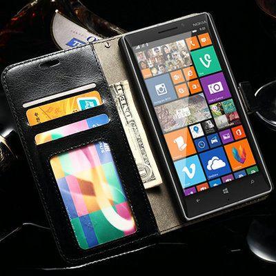 Ретро кошелек фоторамка PU кожаный чехол для Nokia Lumia 930 N930 благородный роскошный телефон сумка с подставкой держателя карты WHAY пу