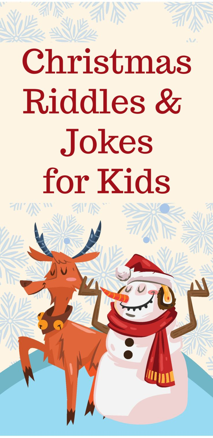 Christmas Riddles and Jokes for Kids Christmas riddles