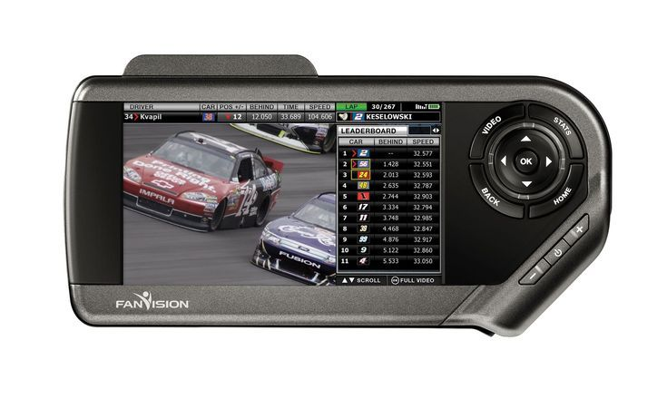 Fan Vision Is 21st Century NASCAR Scanner