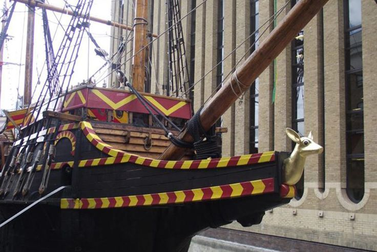 £3 for a child's self-guided tour (£3.50 guided), £4 for an adult tour (£4.50 guided) or £11.50 for a family tour (£13 guided) at the Golden Hinde II - save up to 33%