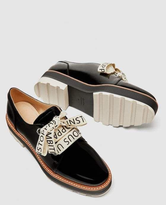 BLUCHER FLATFORM CHAROL | Give me Shoes en 2019 | Zapatos