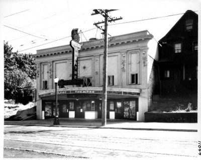 Kitsilano Theatre, 4th Ave at Arbutus Street (now the Russian Community Centre)
