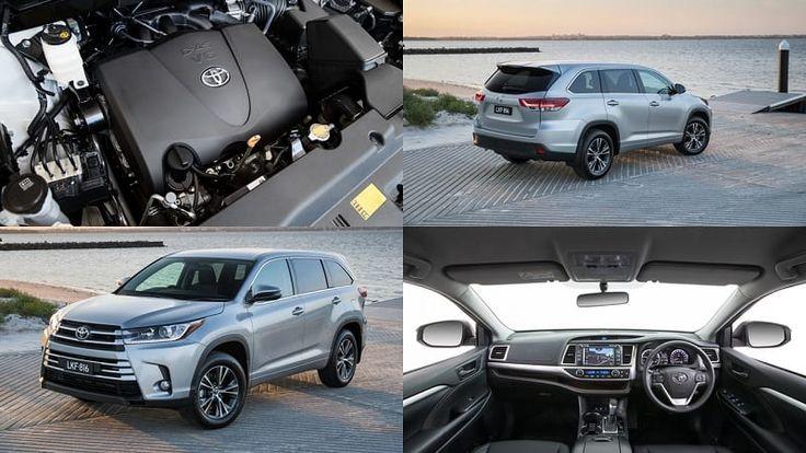 Updated 2017 Toyota Kluger lands in Australia