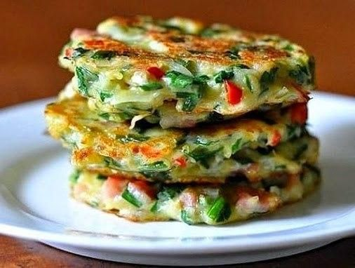 HASH BROWNS WITH VEGETABLES