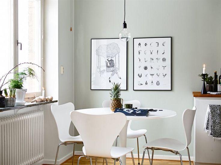 Bright Pastel Apartment - lookslikewhite Blog - lookslikewhite blue gray walls