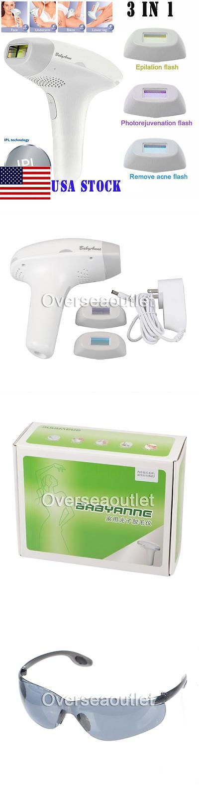 Laser Hair Removal and IPL: Usa 3 In 1 Laser Ipl Permanent Hair Removal Machine Face Body+Whiten Skin Fda -> BUY IT NOW ONLY: $96.88 on eBay!