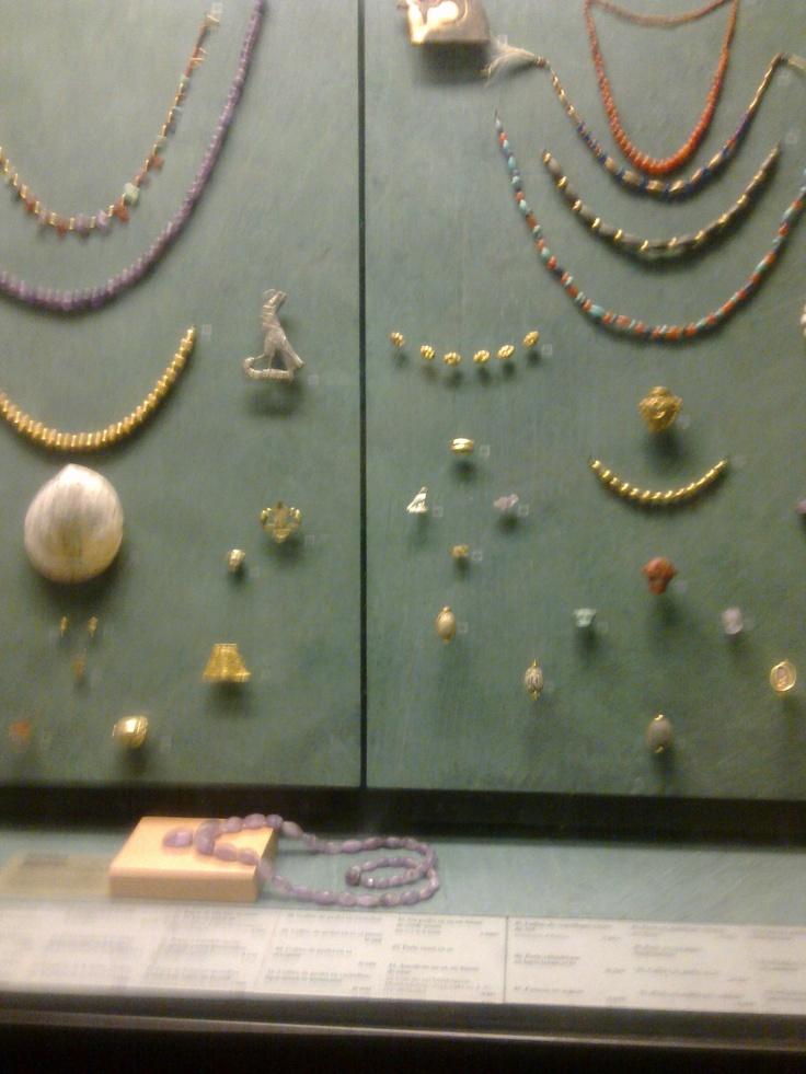 Egyptische sieraden - Louvre