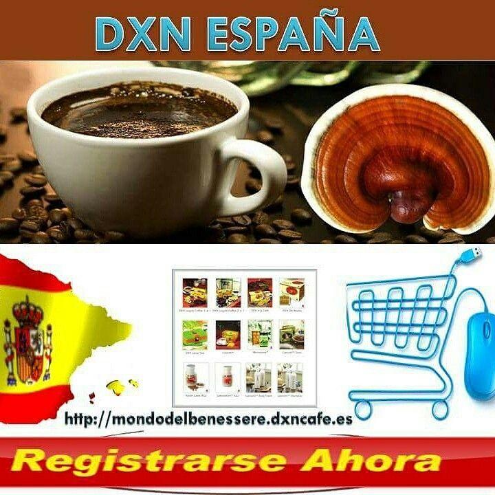 DXN ESPANA http://mondodelbenessere.dxncafe.es