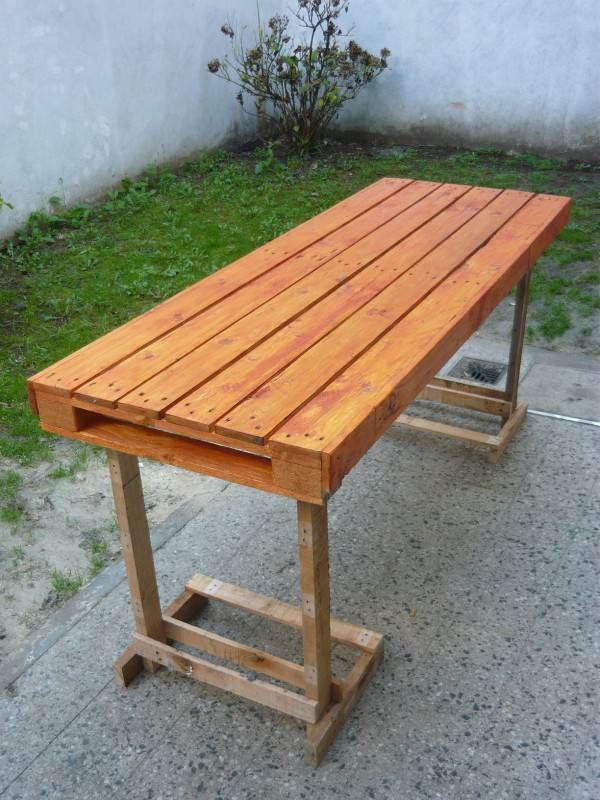 Extra Table For Many Guests U2022 Pallet Ideas U2022 1001 Pallets