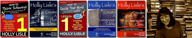 Holly Lisle's Writing Courses Now  I will write a book!