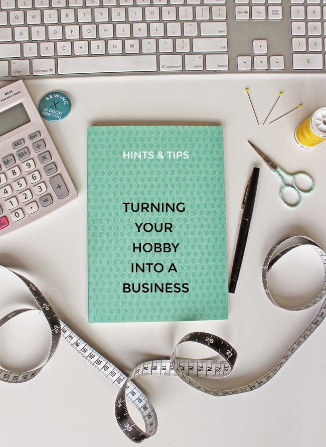 Tilly and the Buttons: Tips for Turning Your Hobby into a Business