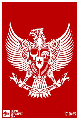 garuda dayak by ghozai on DeviantArt
