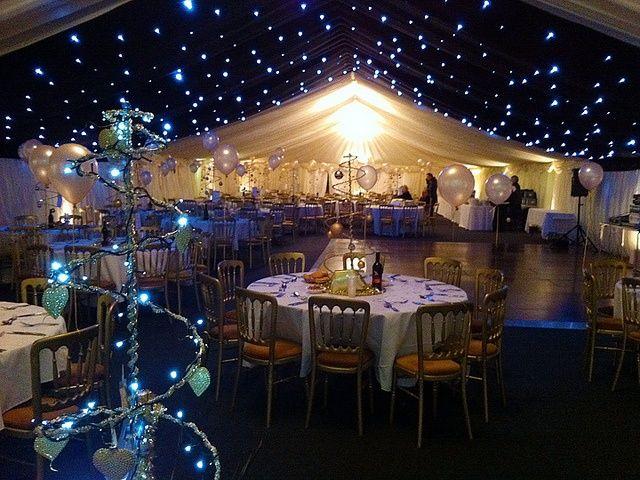 Awesome star inspired geek wedding reception