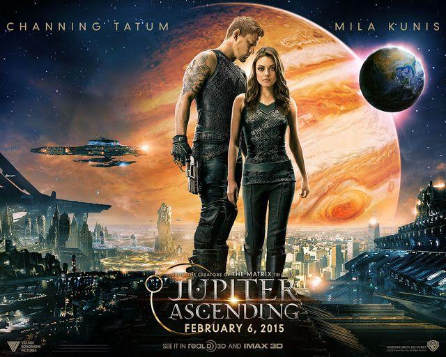 Jupiter Ascending  Cast: Channing Tatum, Mila Kunis, Sean Bean, Eddie Redmayne, Douglas Booth, Tuppence Middleton, Doona Bae, James D'Arcy, Tim Pigott-Smith, Bae Doo Na