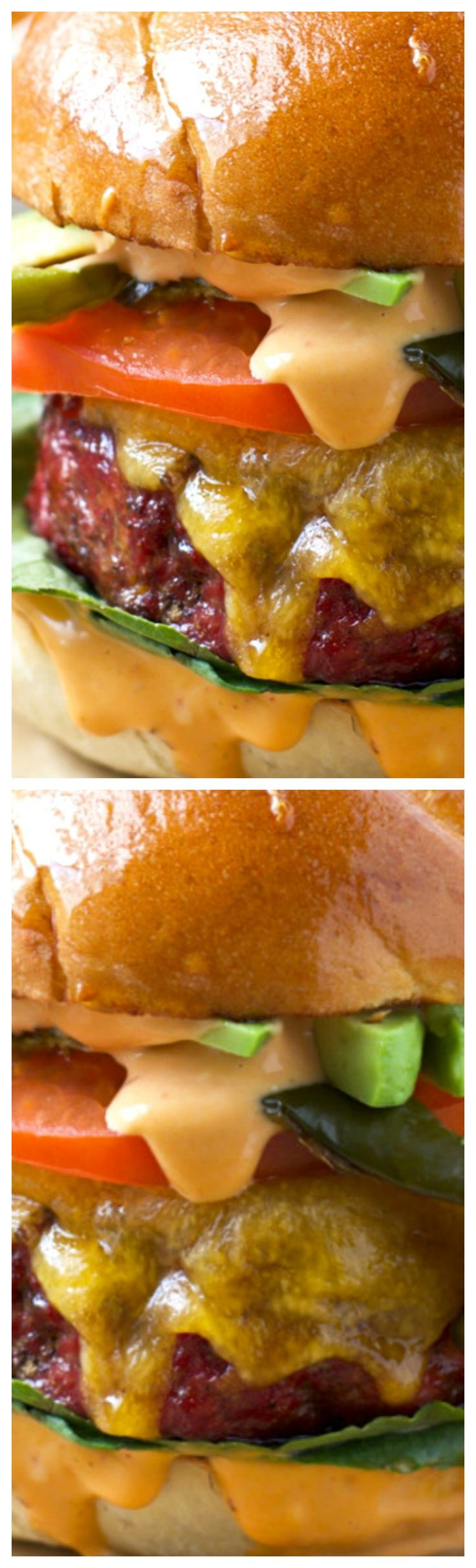 Smoked Burgers with Mexican Chorizo and Smoked Poblano Peppers ~ How to smoke burgers with incredible smoky flavor and moisture with the perfect char on the outside. Plus a recipe for Smoked Mexican Burgers with Chorizo and Smoked Poblanos.