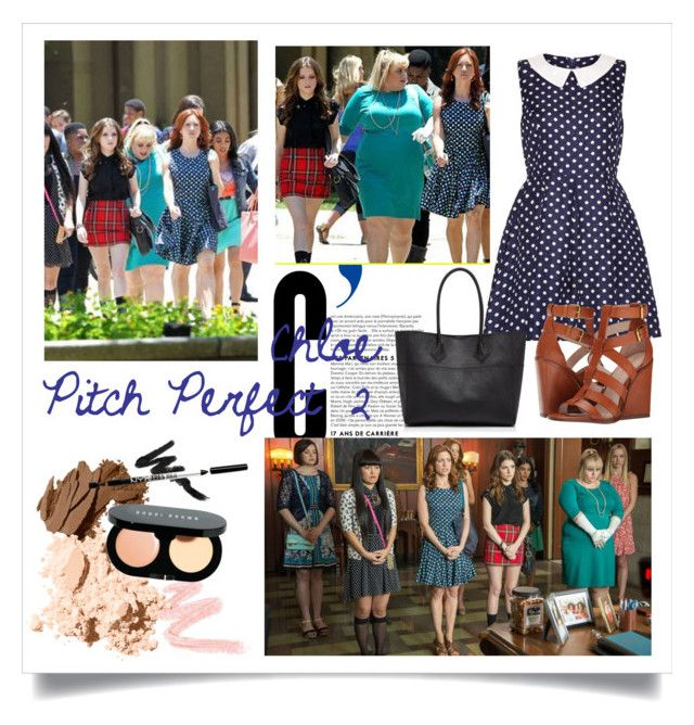 """""""Pitch Perfect 2 Chloe - by @pandagirl1106"""" by xoxo-ily ❤ liked on Polyvore featuring Mela Loves London, Rebecca Minkoff, Pour La Victoire, Bobbi Brown Cosmetics and pitchperfect2"""