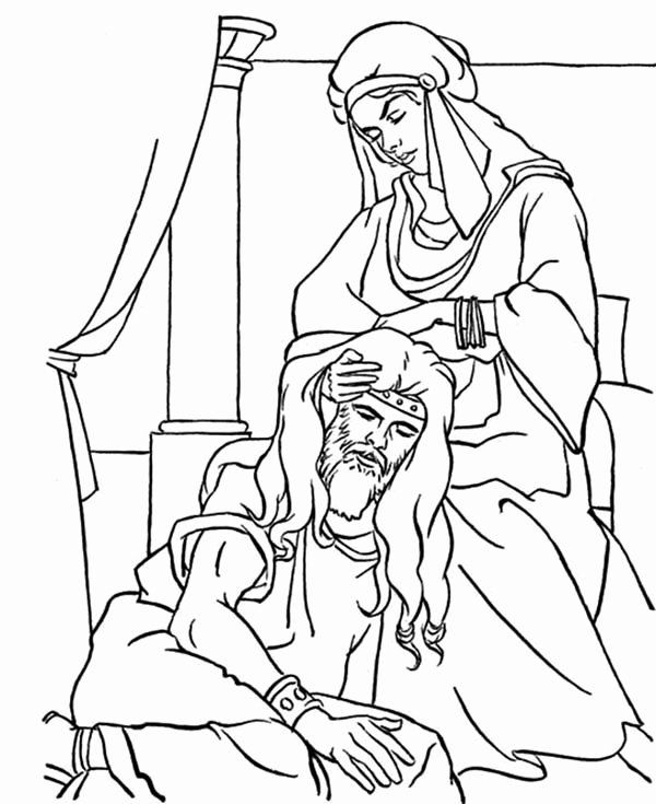 Samson And Delilah Coloring Page Awesome Samson And Delilah Printable Coloring Pages Coloring Pages Power Rangers Coloring Pages Stitch Coloring Pages
