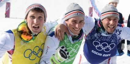 Les jeux olympiques - Le top 5 des Bleus à Sotchi | francetv sport