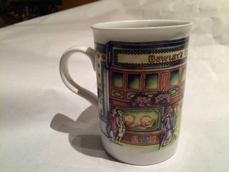 RARE COLLECTIBLE Coffee Mug Bewley Grafton Street Dublin 2 Ireland.