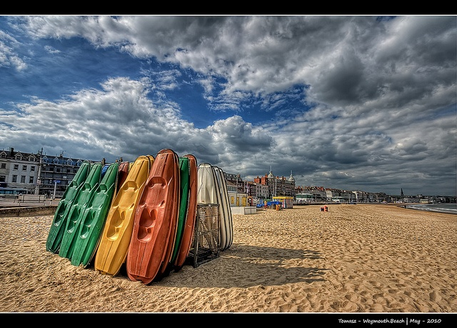 Weymouth - place of The London 2012 Olympic and Paralympic Games