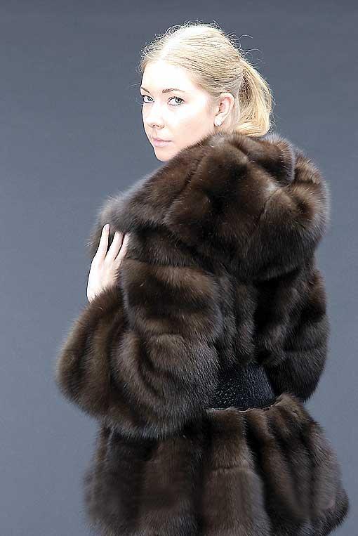 Sable Fur Parka
