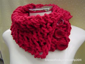 Mais um post no atacado, hehehe. Gostei da ideia de mostrar várias peças de uma só vez. Afinal é dessa forma que estou tricotando:muitos pr...