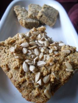 Herbed Paleo Bread.  Need to try.