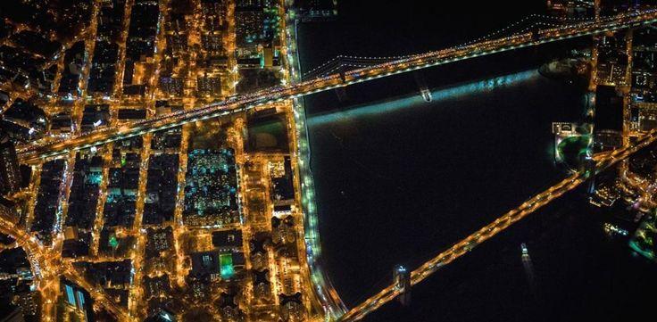 Εντυπωσιακές αεροφωτογραφίες από τις μητροπόλεις του κόσμου