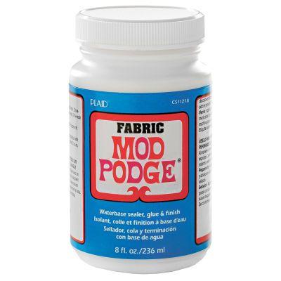 Mod podge fabric micheals pinterest fabrics - Colle mod podge ...