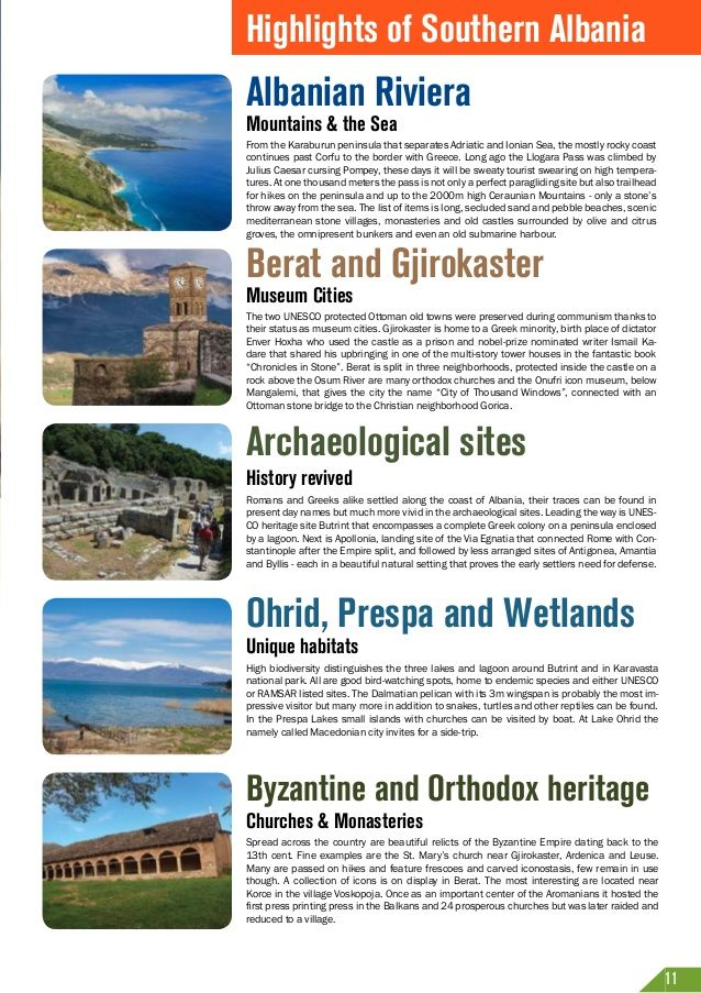 Highlights of Southern Albania  Albanian Riviera Mountains & the Sea  From the Karaburun peninsula that separates Adriatic...