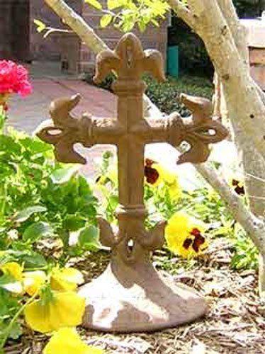 Christian Cross Garden Statues [GC41 27045A] . $24.93. Latin Cross. Cross  Garden