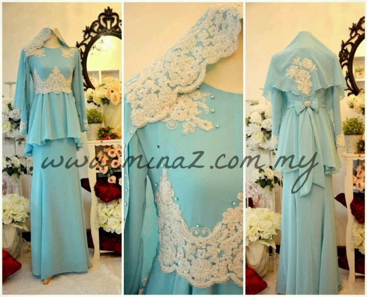 Peplum kurung utk wedding abby