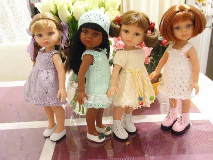 Вяжем для кукол Паолочек – 607 фотографий