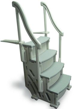 Above Ground Pool Ladders Steps and Entry Systems