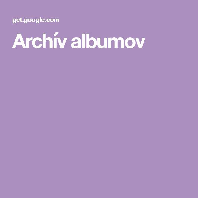 Archív albumov