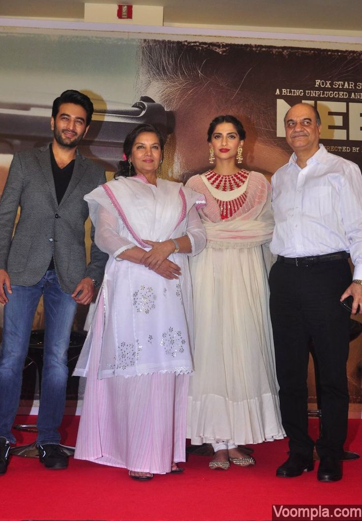 Neerja movie actors and cast at success press meet