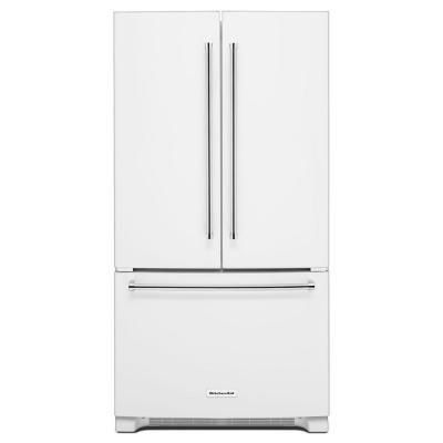 Kitchenaid 36 In W 20 Cu Ft French Door Refrigerator In
