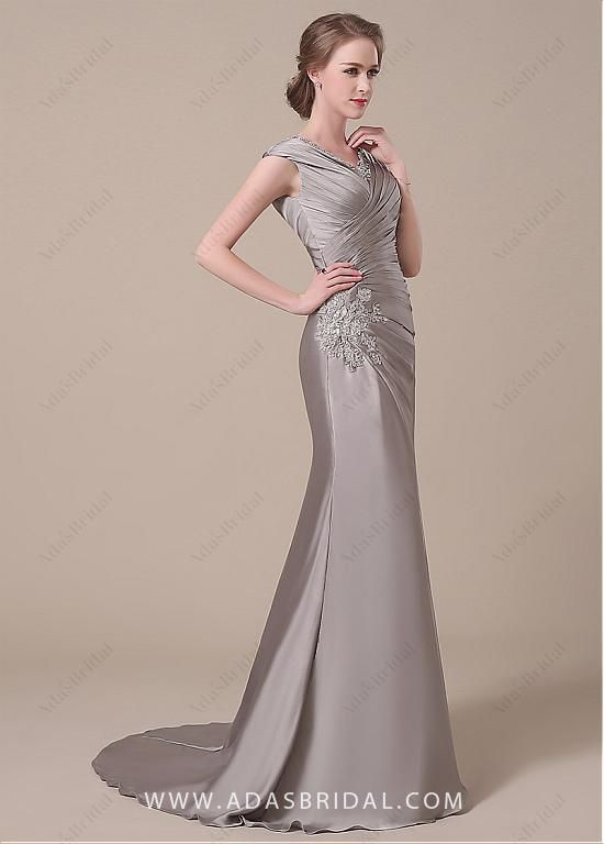 Elegant Satin Dress