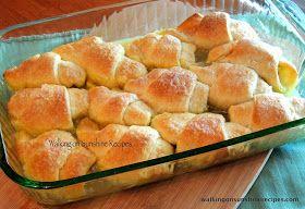Walking on Sunshine: Peach Dumplings with Crescent Rolls...