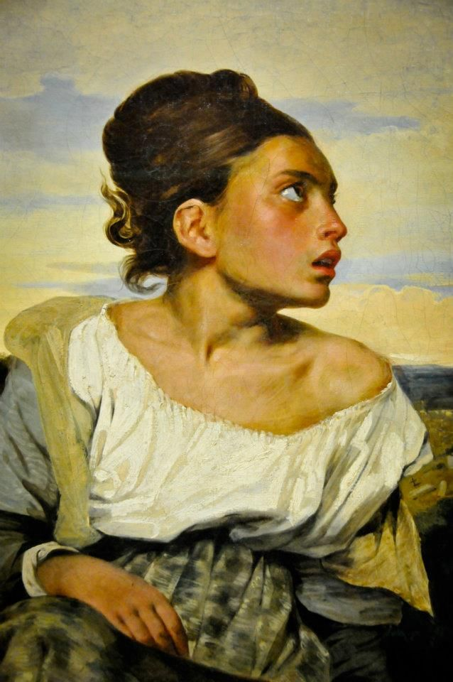 Orphan Girl at the Cemetery | Eugène DELACROIX | Pinterest ...