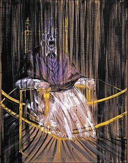 Study after Velázquez's Portrait of Pope Innocent X, 1953 -- Francis Bacon
