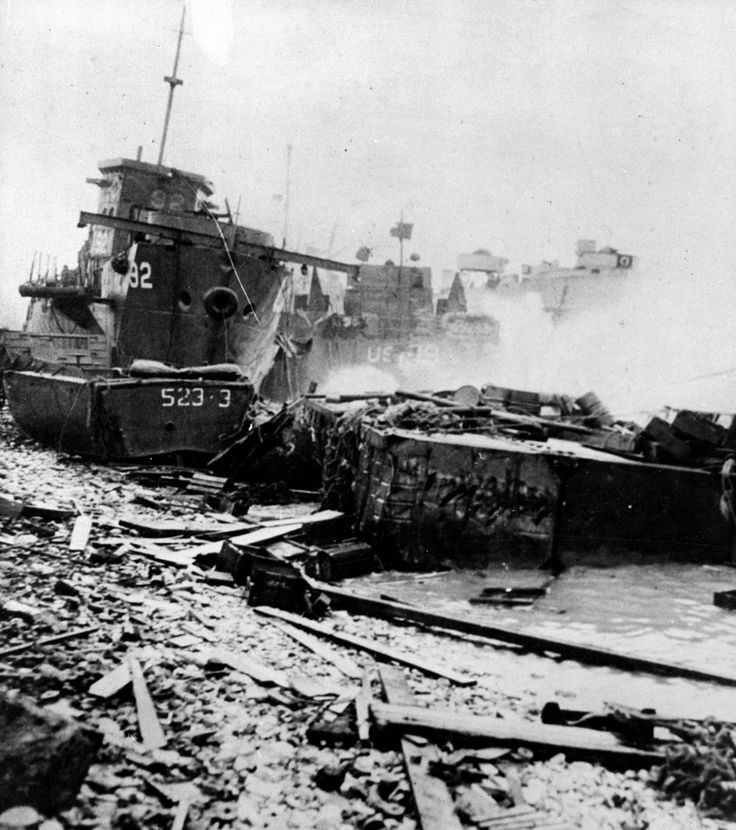 beach landings on d day