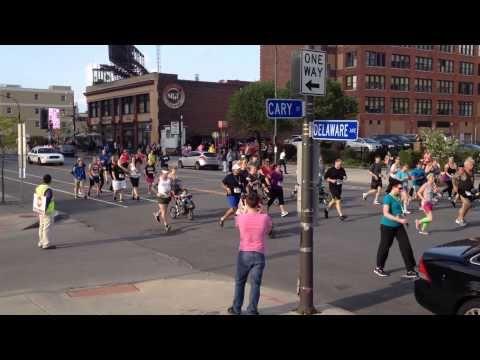 VIDEO: Buffalo Pride 2014 Gay 5k Run #BuffaloPride