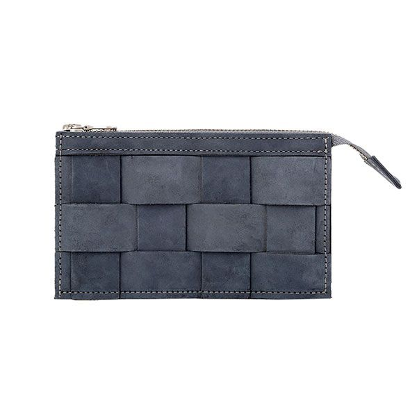Eduards - Wallet Leather Oily Navy | ENIITO