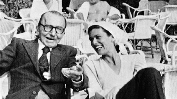 Nikos Kazantzakis and Melina Mercouri